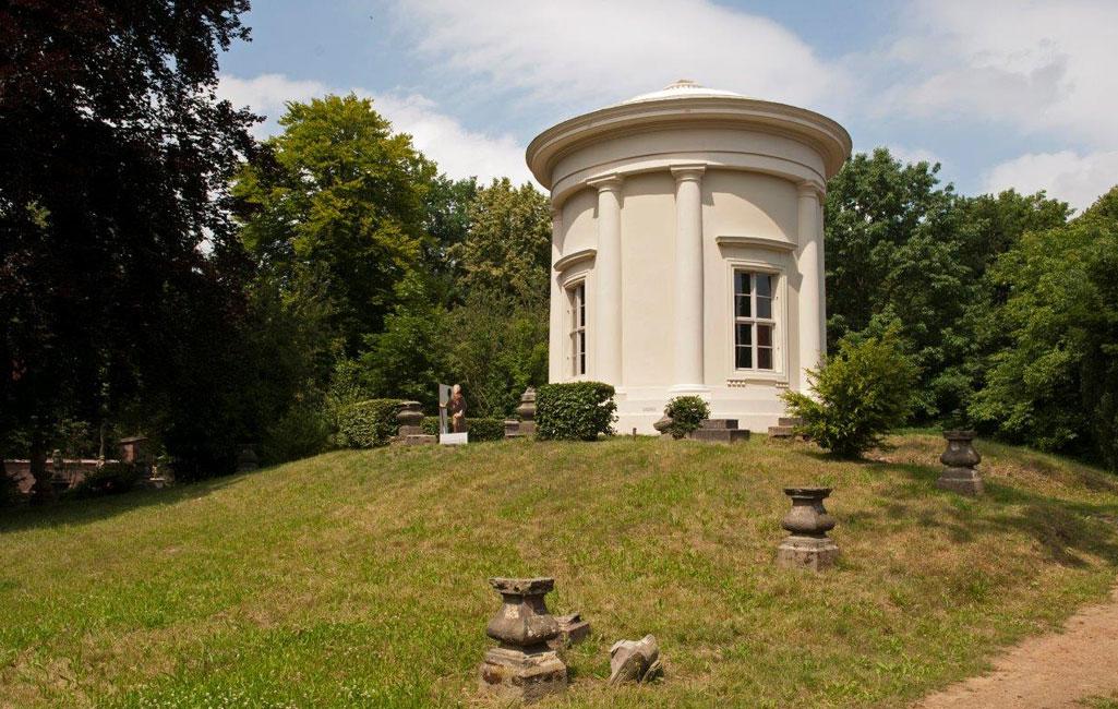 Amalthea- oder Tempelgarten mit Apollo-Tempel
