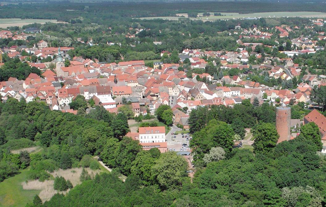 Bad Belzig Luftbild 2012