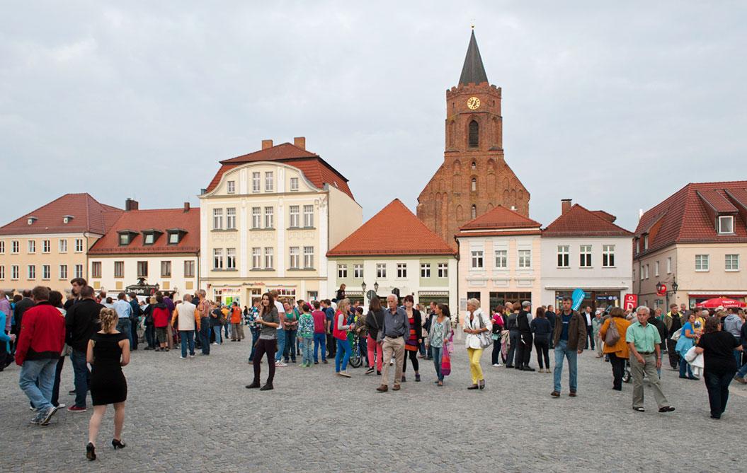 Beeskow Markt