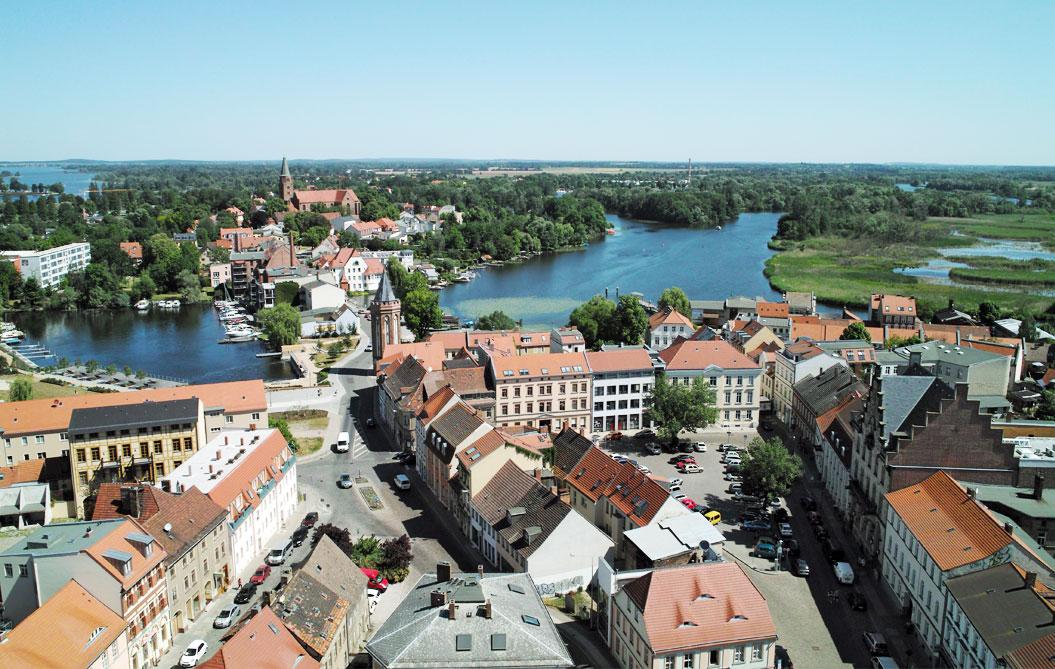 Brandenburg an der Havel Luftbild 2012
