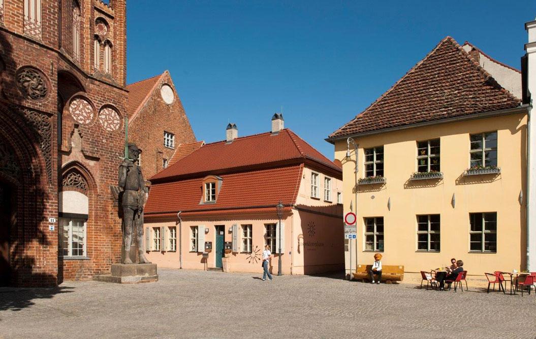 Brandenburg an der Havel Altstädtischer Markt mit Roland