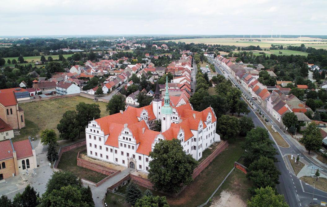 Doberlug-Kirchhain Luftbild