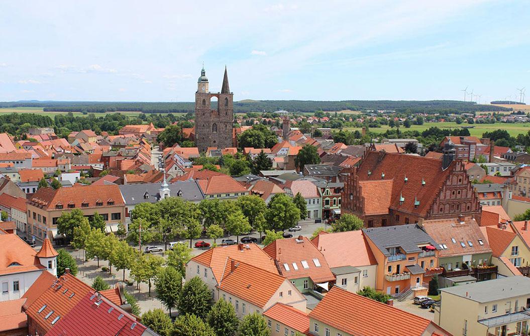 Jüterbog Luftbild 2017