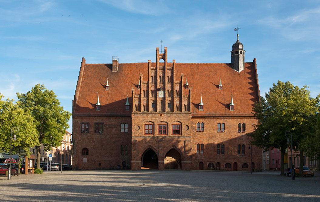 Jüterbog Markt, Rathaus