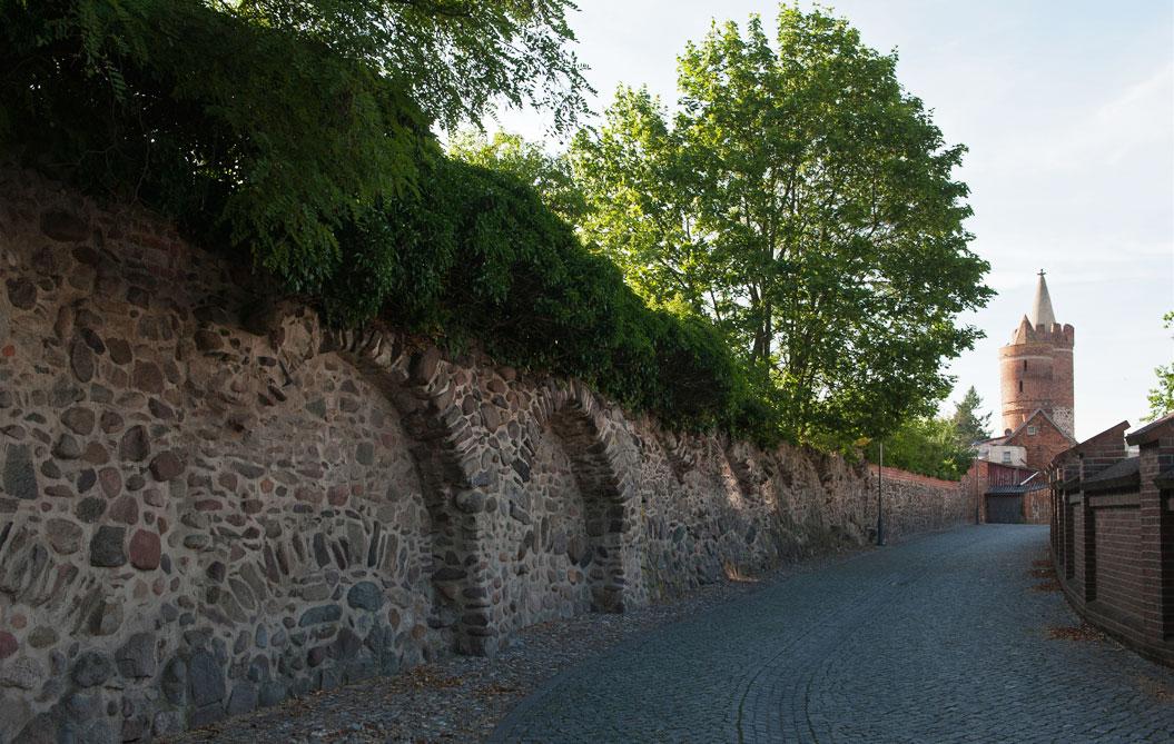 Jüterbog Stadtmauer
