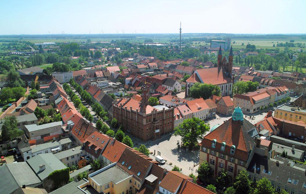 Kyritz Luftbild 2012