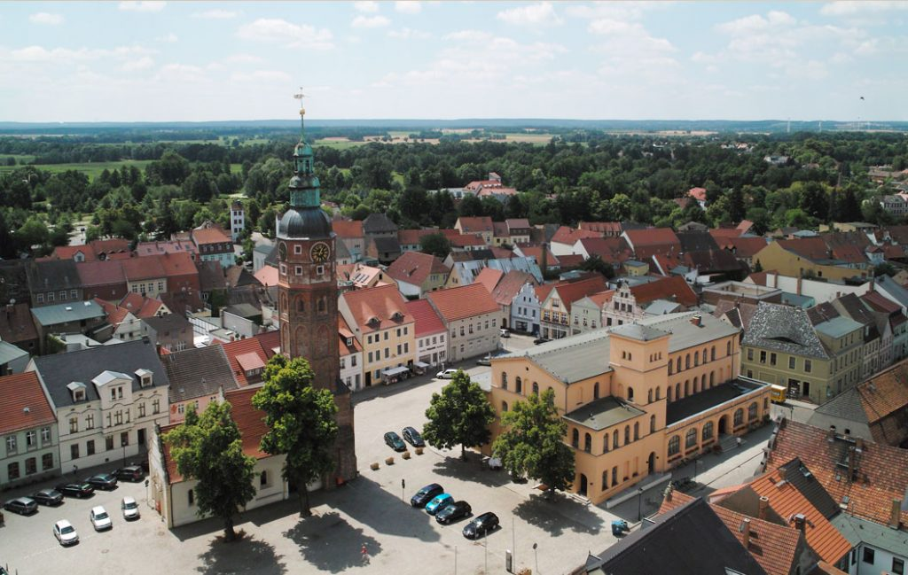 Luckau Luftbild 2011