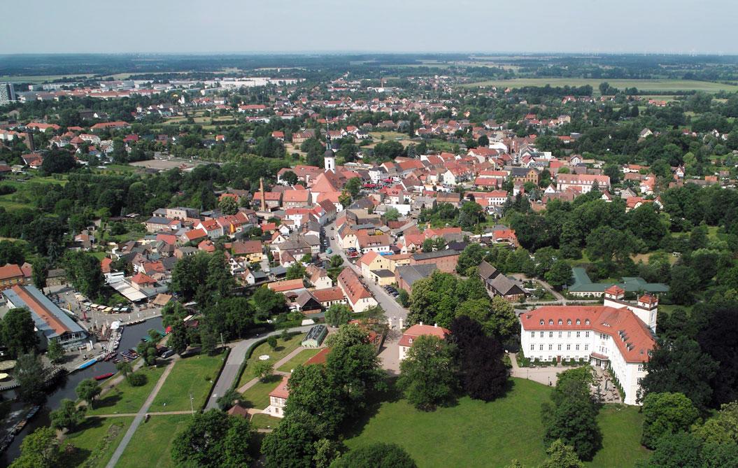Lübbenau/Spreewald Luftbild 2012
