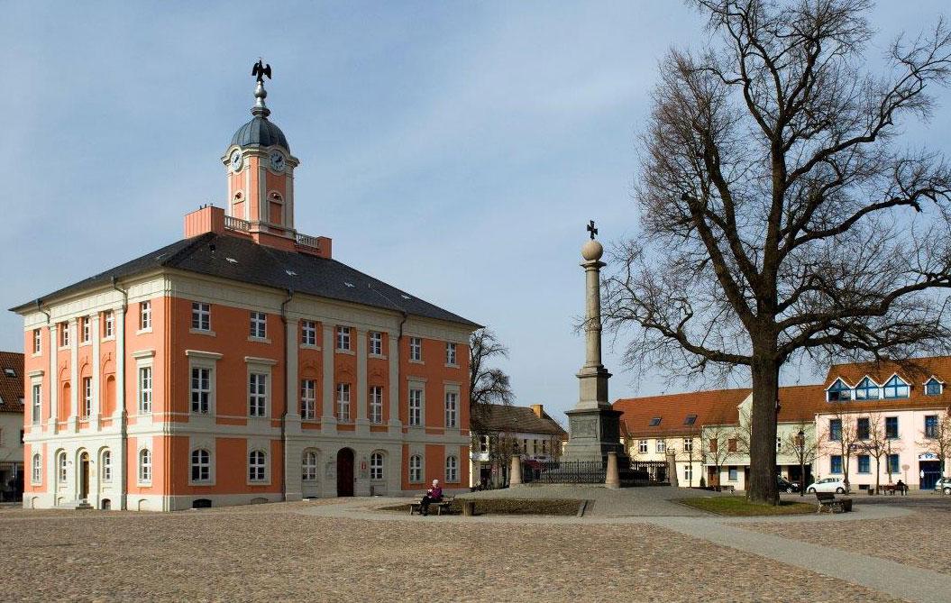 Templin Markt, Rathaus