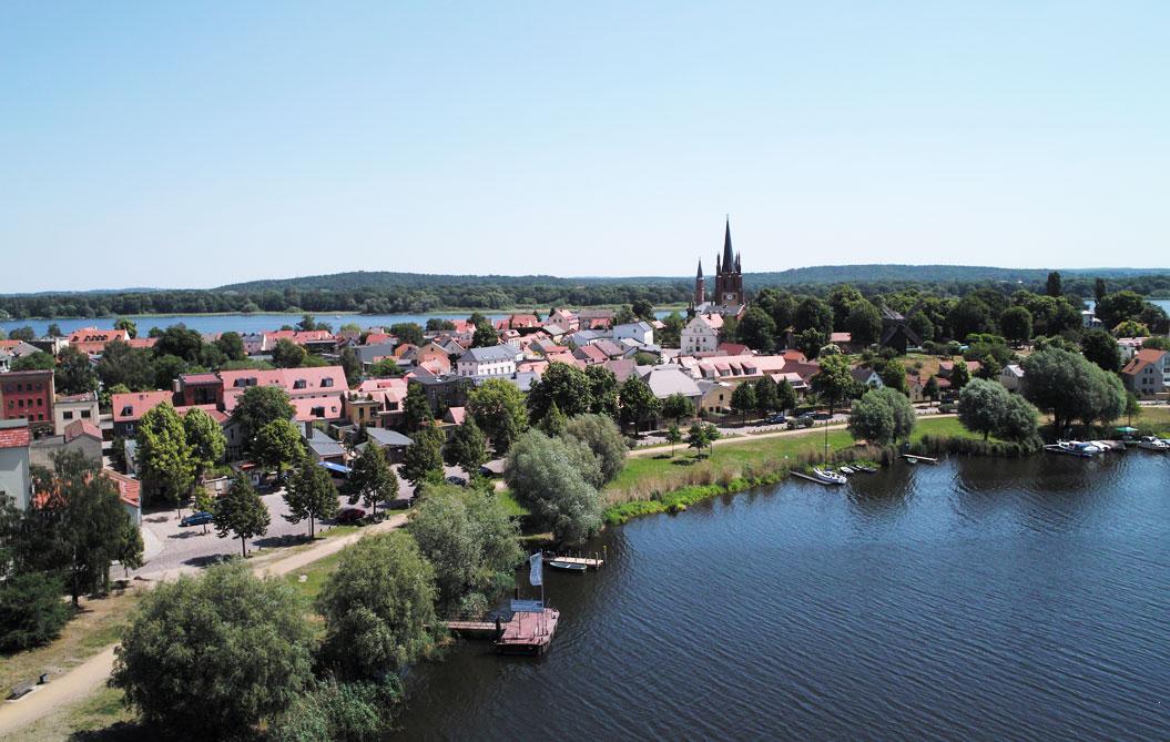 Werder (Havel) Luftbild 2011