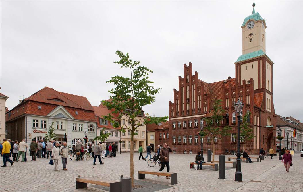 Wittstock/Dosse Markt, Rathaus