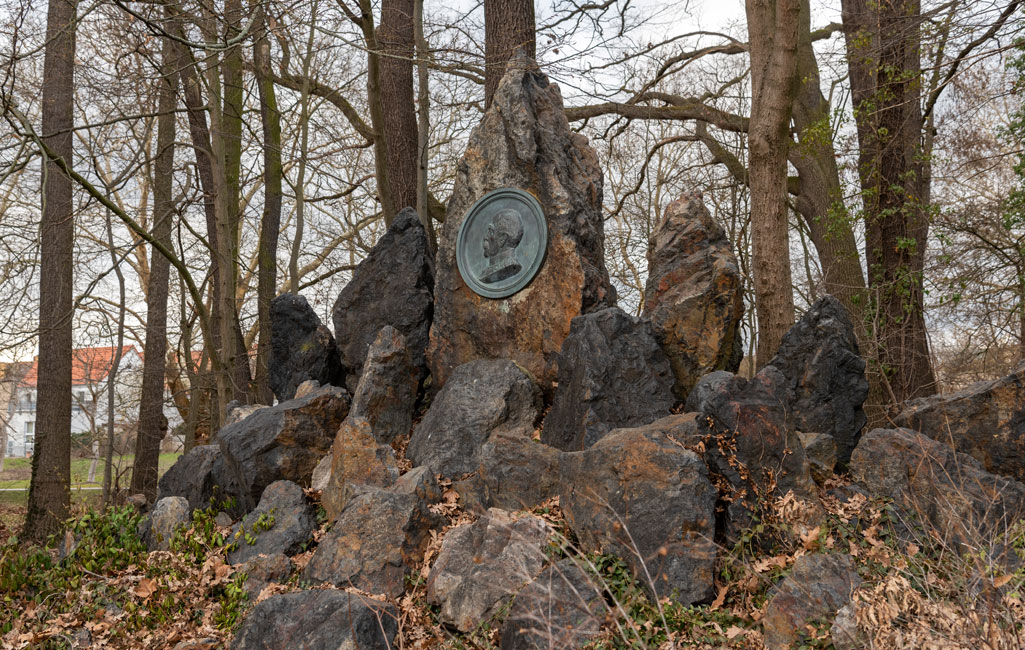 Stadtpark mit Bismarck- und Boldedenkmal