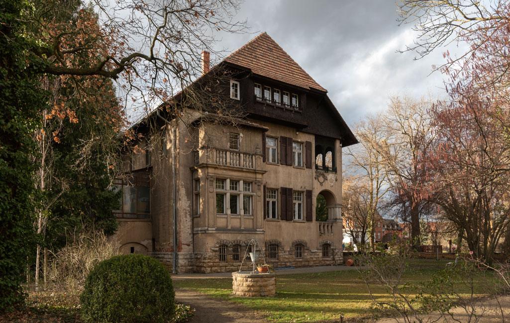 Marxsche Villa im Botanischen Garten