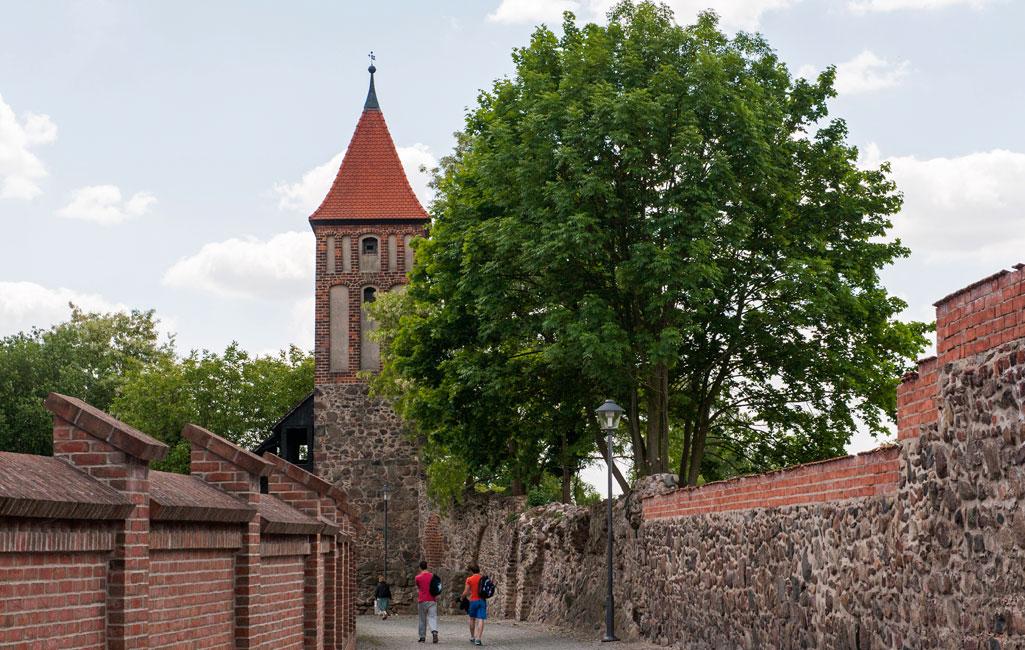 Stadtmauer mit Mäuseturm