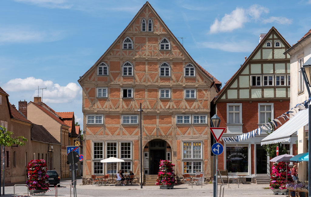 Fachwerkgiebelhaus Johann-Sebastian-Bach-Straße 44