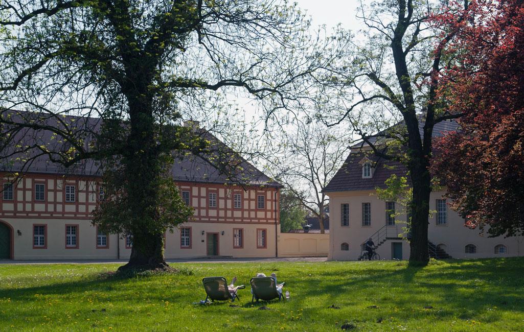 Marstall und Alte Kanzlei im Schlosspark Lübbenau