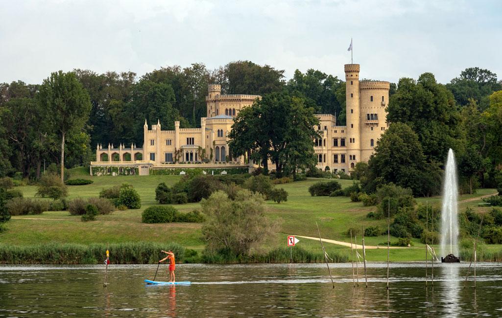 Park Babelsberg mit Schloss Babelsberg