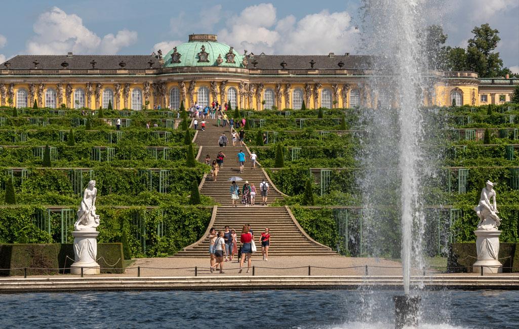 Schkoss und Park Sanssouci
