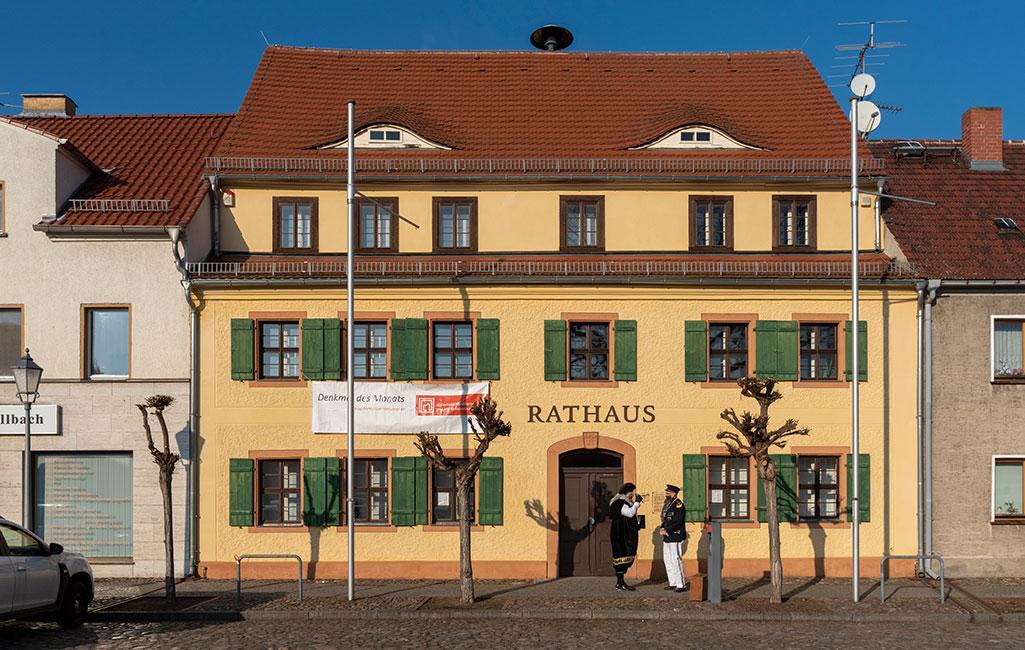 Rathaus Uebigau