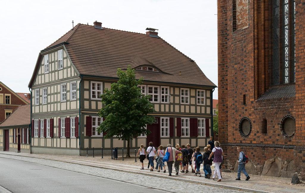 Fachwerkhaus Superintendentur mit Gemeindehaus