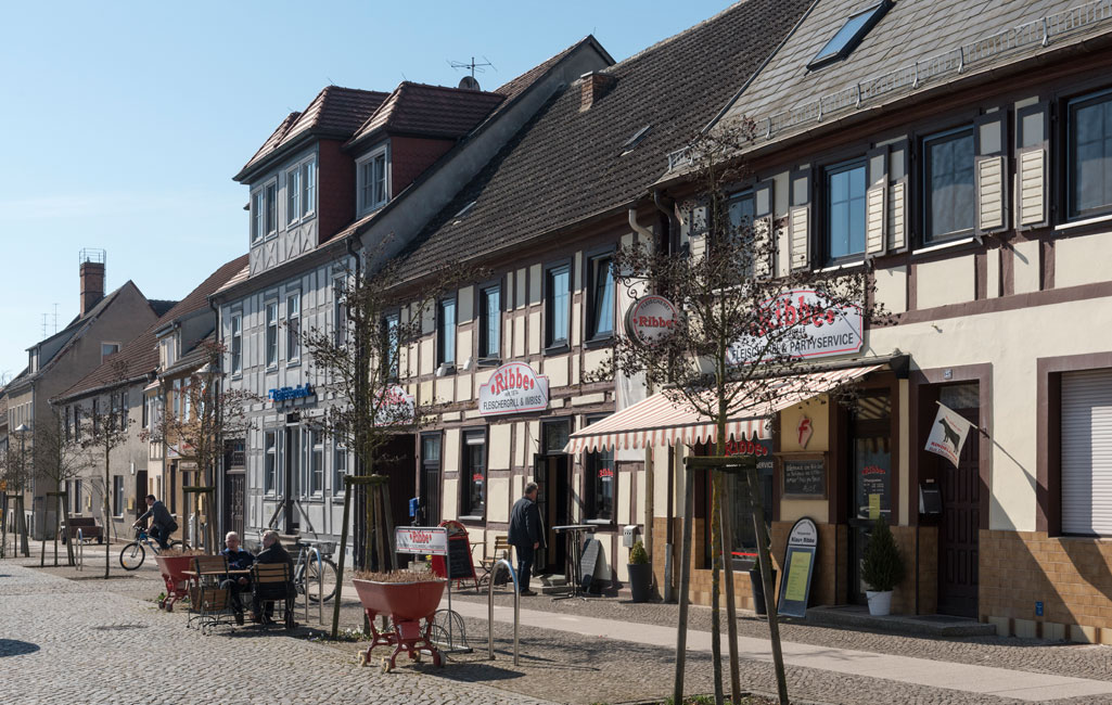 Fachwerkhäuser am Markt
