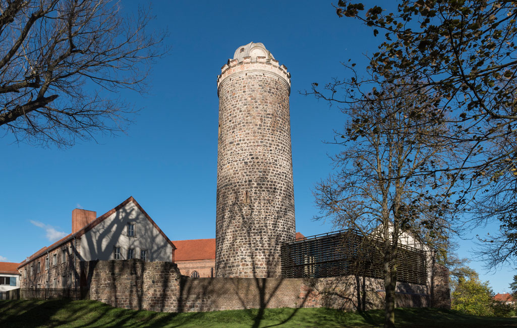 Bergfried Burg Ziesar
