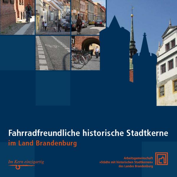 Titelbild Fahrrahfreundliche historische Stadtkerne