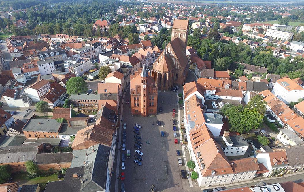 Perleberg Luftbild 2015 Detlef Benecke