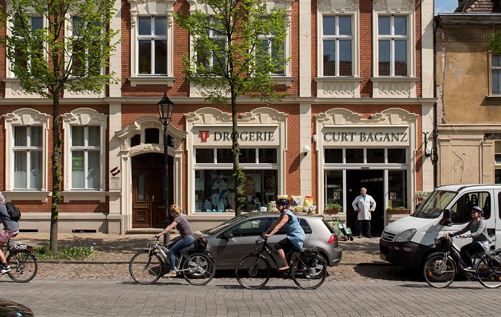 Radfahren in Beelitz