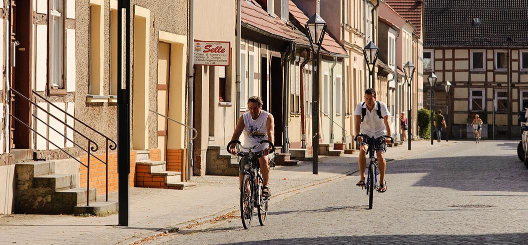 Radfahren in Kyritz