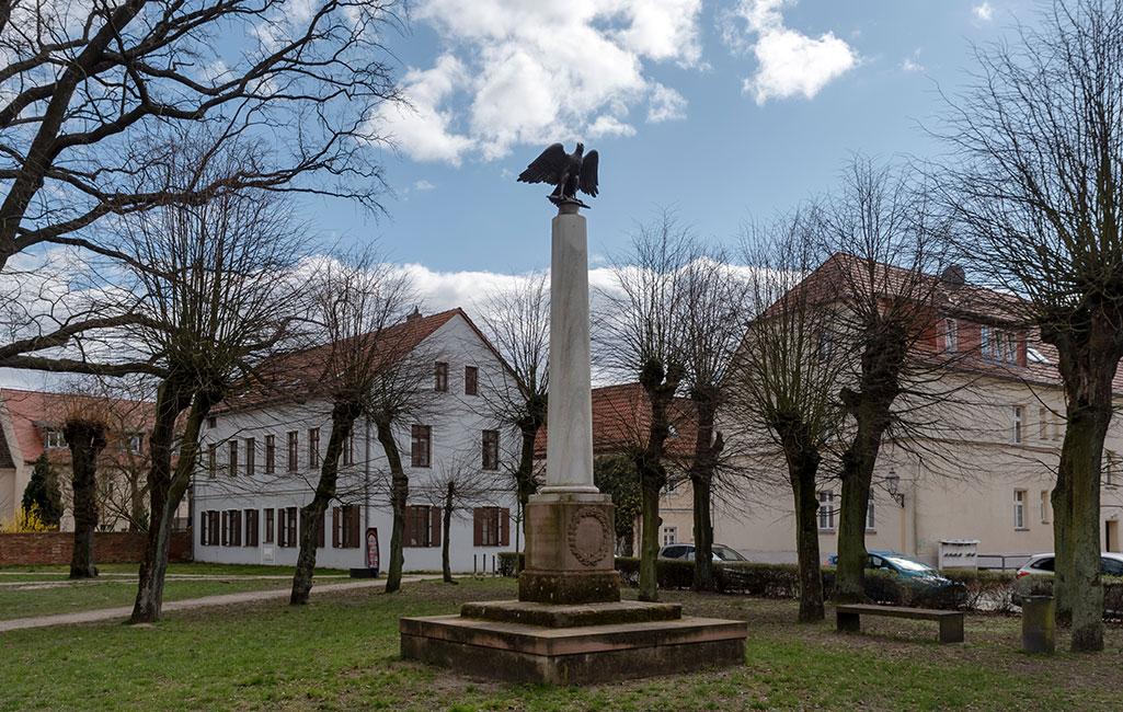 Kriegerdenkmal, Altlandsberg, 2020 Erik-Jan Ouwerkerk