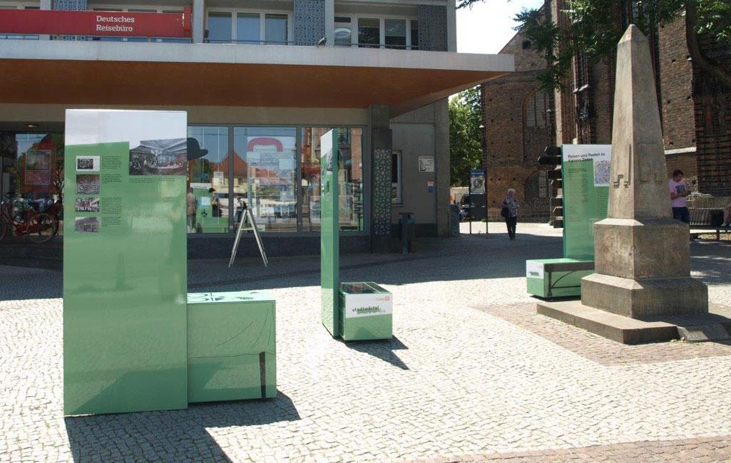 Brandenburg an der Havel, Postmeilensäule, Kulturland 2019