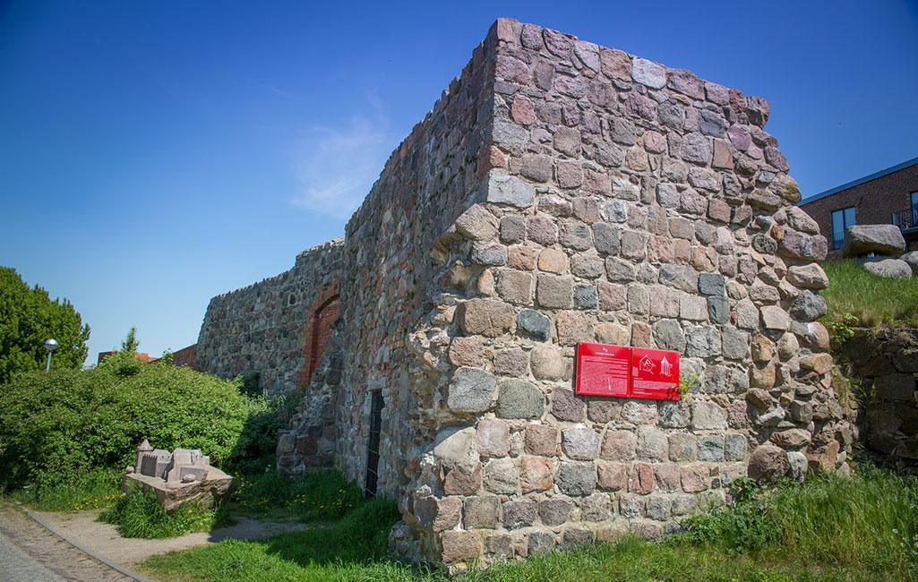 Angermünde, Reste der Burg, 2018 Stefan Klenke