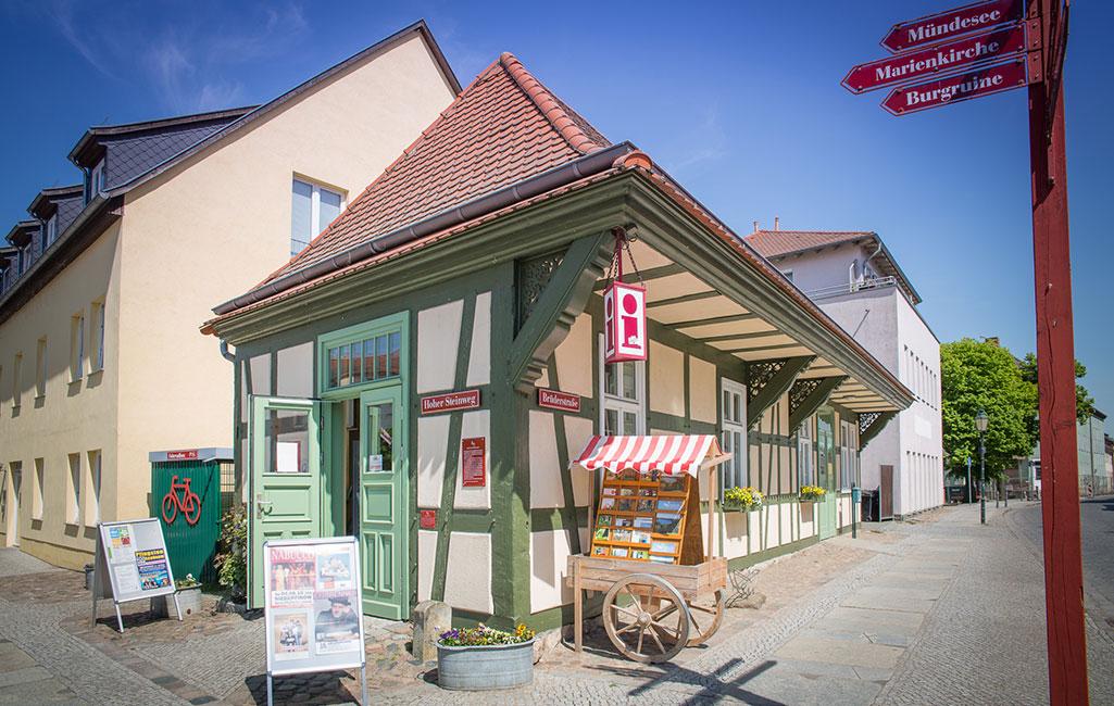 Angermünde Tourist-Information 2018 Stefan Klenke