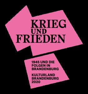KriegundFrieden Wortmarke Kulturland Brandenburg 2020