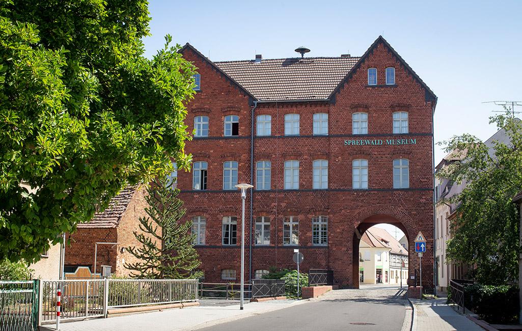 Torbogenhaus Leubbenau
