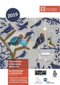 Plakat Sommertheater 2019