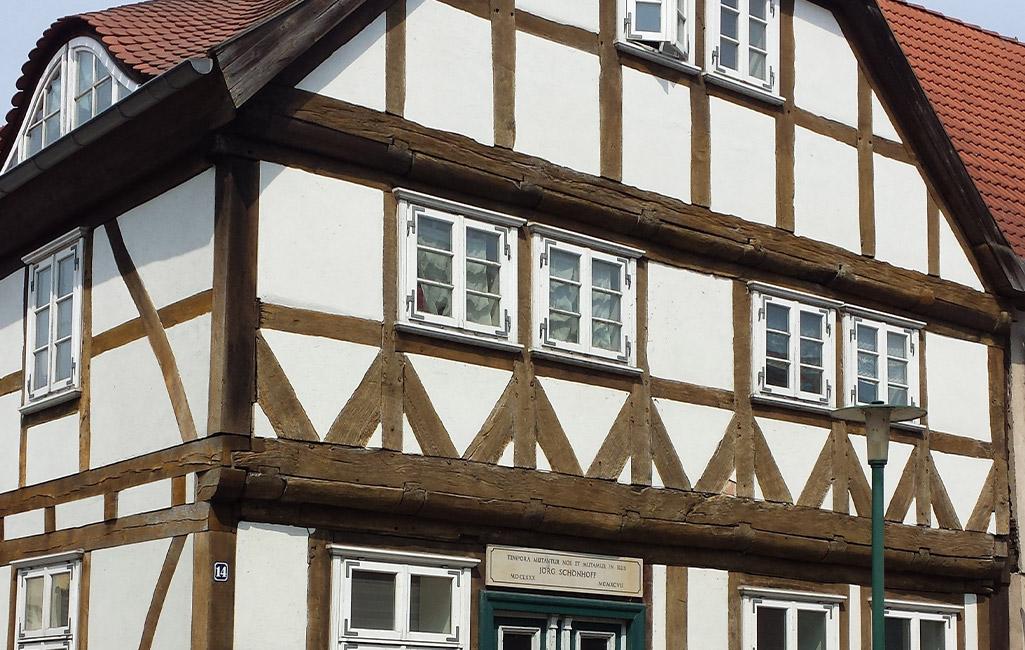 Lenzen, ältestes Haus, Seetorstr14 2020 Amt Lenzen