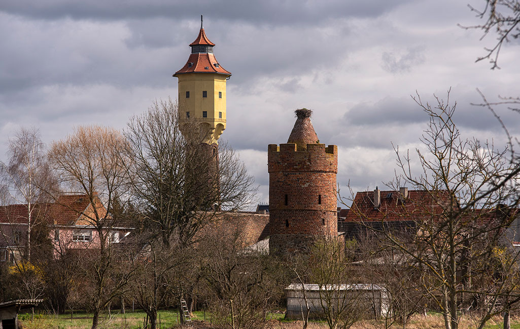 Treuenbrietzen Wasserturm+Pulverturm 2020 Erik Jan Ouwerkerk