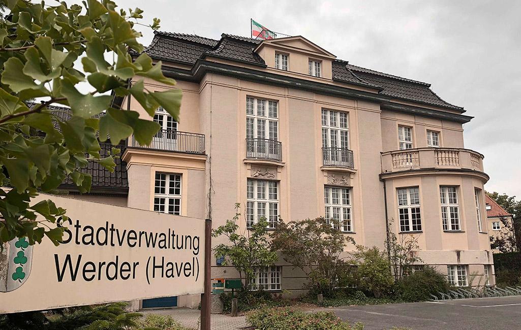 Werder Neues Rathaus, 2019 Ellen Fehlow